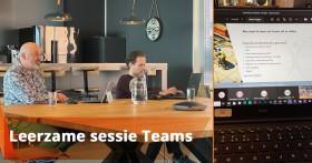 Leerzame sessie Microsoft Teams